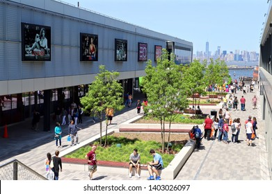 NEW YORK CITY MAY 18 2019: Empire Outlets at Staten Island NYC