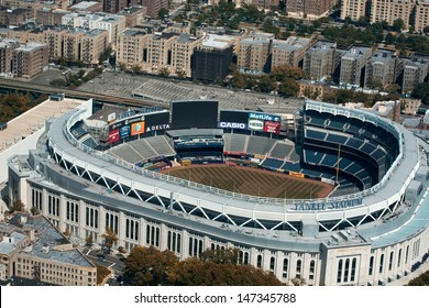 NEW YORK CITY - MAY 21: Yankee Stadium is a stadium located in The Bronx in New York City. It is the home ballpark for the New York Yankees. May 21, 2013 in New York City, USA.