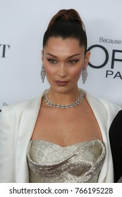 NEW YORK CITY - NOVEMBER 13 2017: The annual Glamour Women of the Year Awards ceremony was held in Brooklyn's Kings Theater on Flatbush Ave. Supermodel Bella Hadid