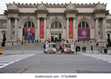 NEW YORK CITY, NY -26 JAN 2017- The Metropolitan Museum of Art (Met) in New York City. Founded in 1870, it is the largest art museum in the United States.
