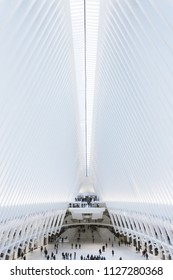 NEW YORK CITY, NY USA, May 2018: The Oculus. Editorial only.