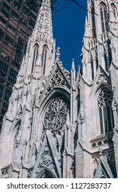 NEW YORK CITY, NY, USA, May 2018: St. Patrick's Cathedral. Editorial only.
