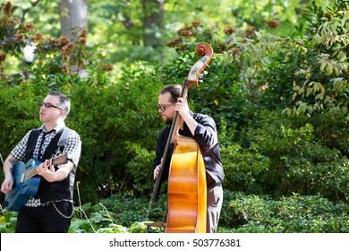 New York City, NY USA - 10/18/2016 - New York City Central Park Street Performers