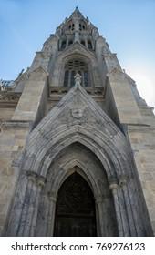 New York City, NY USA - 05/11/2015 - New York City Saint Patrick's Cathedral Gothic Exterior