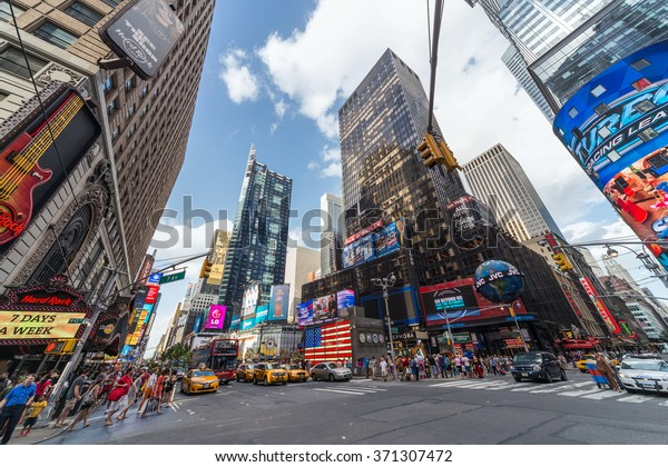 New York City, NY/USA - circa July 2013: Time Square in New York City