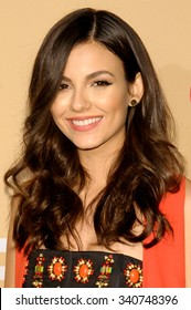 NEW YORK CITY, NY/USA -  NOVEMBER  17  2015: Victoria Justice attends 'CNN Heroes: An All-Star Tribute' at the Museum of Natural History.