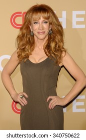 NEW YORK CITY, NY/USA -  NOVEMBER  17  2015: Kathy Griffin attends 'CNN Heroes: An All-Star Tribute' at the Museum of Natural History.