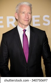 NEW YORK CITY, NY/USA -  NOVEMBER  17  2015: Anderson Cooper attends 'CNN Heroes: An All-Star Tribute' at the Museum of Natural History.