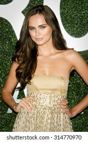 NEW YORK CITY, NY/USA -  SEPTEMBER  08  2015: Model Xenia Deli attends the debut of Margherita Missoni and Peroni Nastro Azzuro 'Fall Fashion Collaboration' during New York Fashion Week