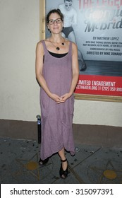 NEW YORK CITY, NY/USA -  SEPTEMBER  09  2015: NEW YORK CITY, NY/USA -  SEPTEMBER  09  2015: Anne Kauffman attends the opening night of 'The Legend of Georgia McBride' at the MCC Theater