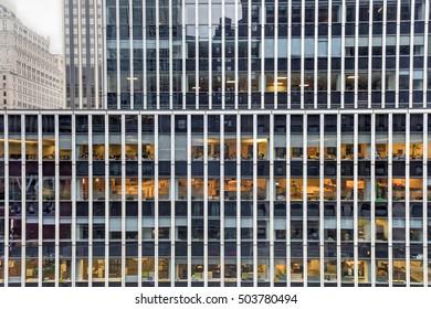 New York City - October 22, 2016: One Penn Plaza skyscraper in midtown Manhattan, New York City.
