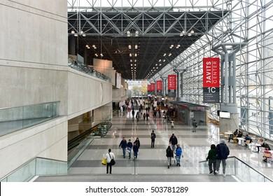 New York City - October 22, 2016: Jacob K. Javits Convention Center in New York City.