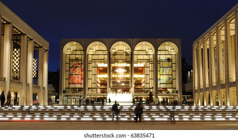 NEW YORK CITY - OCTOBER 23: Metropolitan Opera House at Lincoln Center hosts many world class musicians October 23, 2010 in New York, New York.