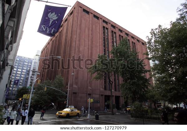 New York City October 31 Bobst Stock Photo (Edit Now) 127270979