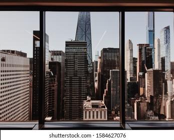 A New York City Office Scene