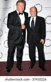 NEW YORK CITY - SEPT 16: Singer Billy Joel(R) and Actor Alec Baldwin(L) arriving at opening night of the NYC philharmonic Sept 16, 2008 in NY.