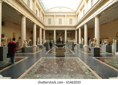 NEW YORK CITY - SEPTEMBER 15: Housing over 2 million works of art, the Metropolitan Museum of Art is one of the biggest museums in the world September 15, 2010 in New York, NY.