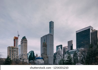 New York City Skyline Downtown Manhattan