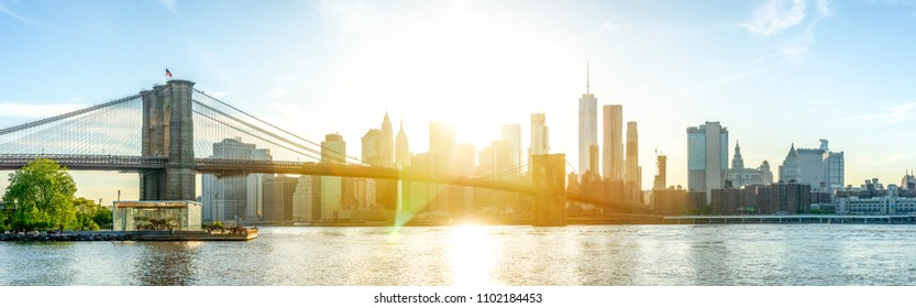 New York City, Skyline, Manhattan, USA