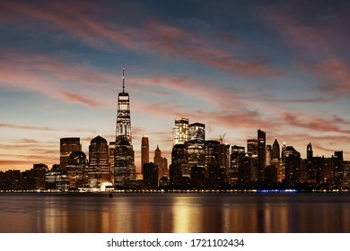 New York City skyline urban view with historical architecture  - Shutterstock ID 1721102434