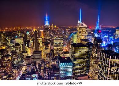 New York City Skyline. USA.