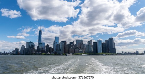 New York City Skyline - View From Hudson River