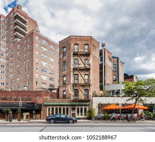 New York City, United States - August 25, 2017: 7th Avenue S, Greenwich Village, Manhattan.