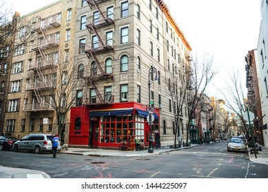 New York City, United States of America circa 2018 March: the Friends cafe