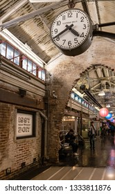 New York City, USA - 30 May 2017 : Chelsea Market in New York City. It is a food hall, shopping mall, office building and television production facility located in the Chelsea neighborhood