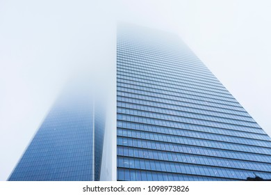New York City, USA - April 25,2018 : 7 World Trade Center is a building in the World Trade Center complex in Lower Manhattan, New York City, USA on April 25,2018.