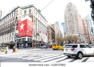 a927a237dab6b ... and Sunglasses Hut shops along Broadway. New York City