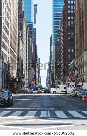 New York City Usa Circa June Stock Photo Edit Now 556002532