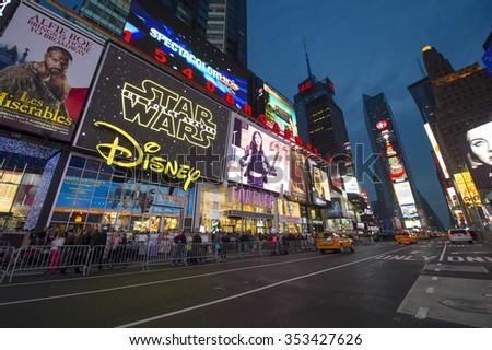 5072d9d83cf NEW YORK CITY USA DECEMBER 13 Stock Photo (Edit Now) 353427626 ...