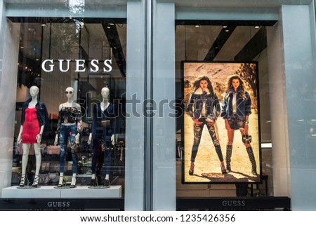 9b226cae0 New York City USA July 28 Stock Photo (Edit Now) 1235426356 ...