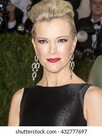 New York City, USA - May 2, 2016: Megyn Kelly attends the Manus x Machina Fashion in an Age of Technology Costume Institute Gala at the Metropolitan Museum of Art