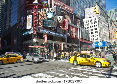 New York City / USA - November 22 2014: Times Square in New York City