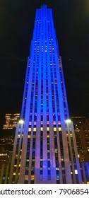New York City, USA - October 23, 2017: Rockefeller Center.