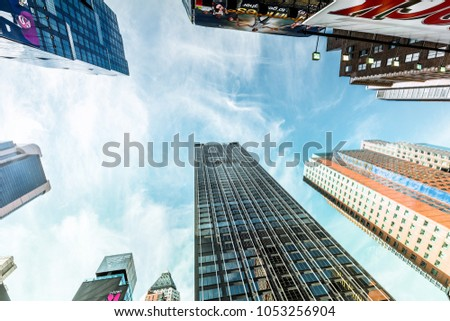 06abf791e730 New York City USA October 28 Stock Photo (Edit Now) 1053256904 ...