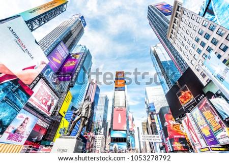 620c9ca463ea New York City USA October 28 Stock Photo (Edit Now) 1053278792 ...