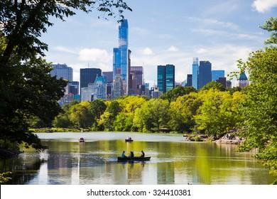 NEW YORK CITY, USA - SEPTEMBER, 2014: Central Park New York City