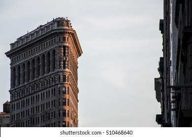 New York City USA Skyline the Big Apple Sunset Flatiron Building