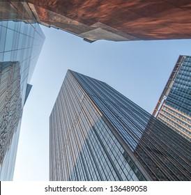 New York City, wonderful Manhattan skyscrapers.