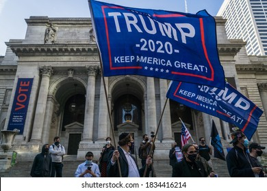 New York City, New York/USA October 15, 2020 Jews fight back after New York City Mayor De Blasio and New York Governor Cuomo blame Jews for the increase in coronavirus cases.