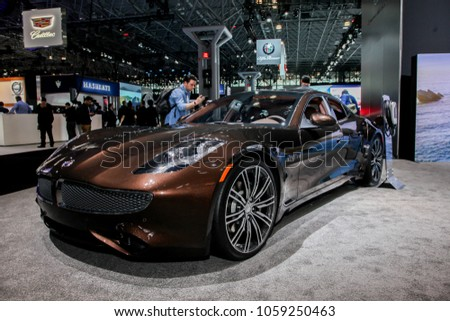 NEW YORK CITYMARCH Karma Stock Photo Edit Now - Jacob javits center car show 2018