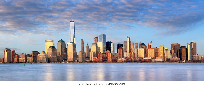 New York cityscape, USA