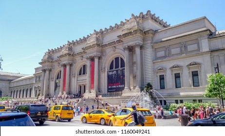 New York City/United States - 06.14.2018: American Museum of natural history New York