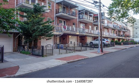 New York City/United States - 06.14.2018: House in Queens  New York