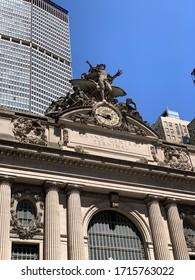 New York City/USA - April 19, 2020: Grand Central Terminal, New York City, USA
