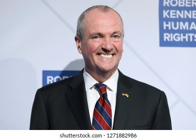 NEW YORK - DEC 12, 2018: Phil Murphy attends the 2018 Ripple Of Hope Awards at the Hilton Hotel on December 12, 2018, in New York