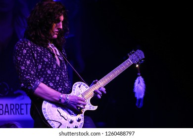NEW YORK - DEC 13: Cade Foehner performs in concert at Irving Plaza on December 13, 2018 in New York City